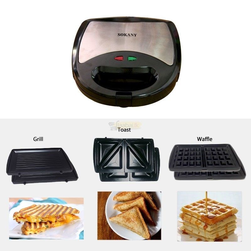 Sokany 3 In 1 Waffle Grill Sandwich Maker Price In Egypt Jumia Egypt Kanbkam