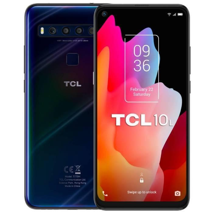TCL 10 Lite - 6GB RAM - 128GB - Mariana Blue