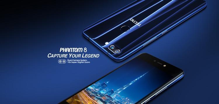 Tecno Phantom 8 - 5 5-inch - 64GB Dual SIM 4G Mobile Phone - Black | Mobile  Phones | kanbkam com