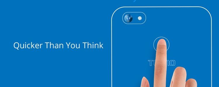 Tecno Spark K7 Fingerprint Sensor