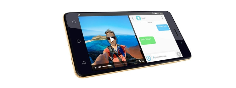 موبايل تكنو Tecno F1 - موبايل 5.0 بوصة - 8 جيجا بايت - ثنائي الشريحة -ذهبي من جوميا