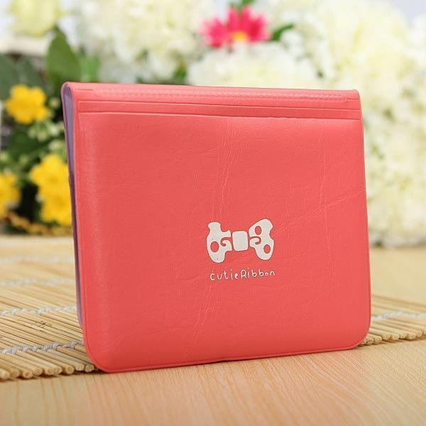 Fashion Sweet Girls Cards Holder Women Bowknot ID Cards Holder