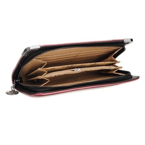 Women Diamond Scorpion Long Wallet Clutch Bag