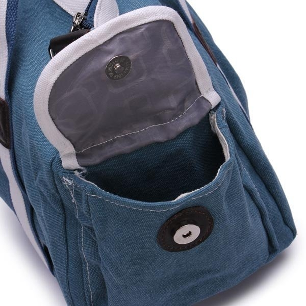Fashion Unisex Casual Canvas Handbag Women/Men Shoulder Bag