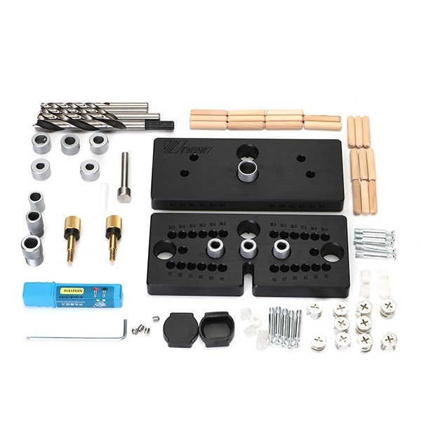 Universal 3 In 1 Dowelling Jig For Furniture Fast Connecting Cam DIY