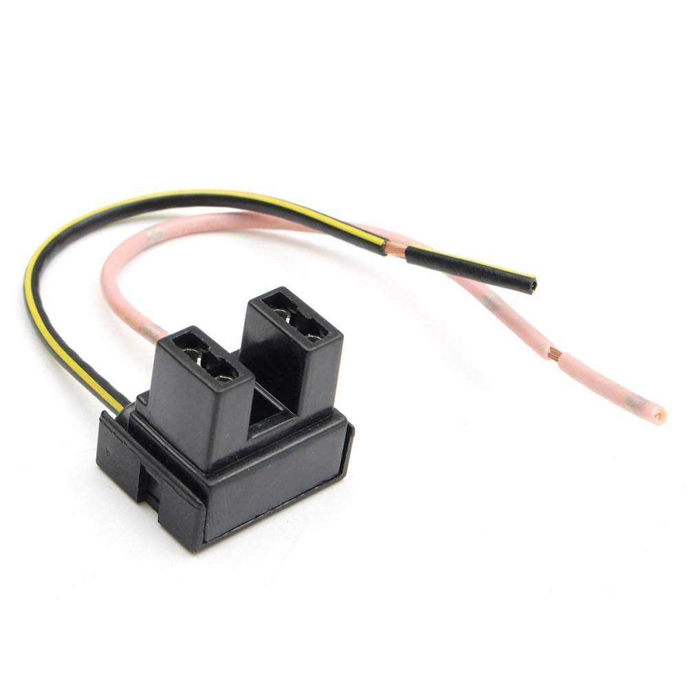 Sale On 2 Pin H7 Headlight Xeon Bulb Connector Plug Wiring Harness Plugs For Electrical Harnesses Socket Adapter New