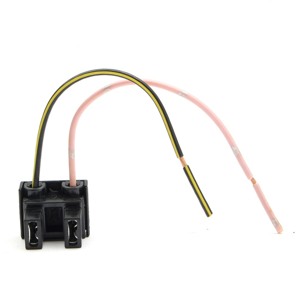 Sale On 2 Pin H7 Headlight Xeon Bulb Connector Plug Wiring Harness Pins Socket Adapter New