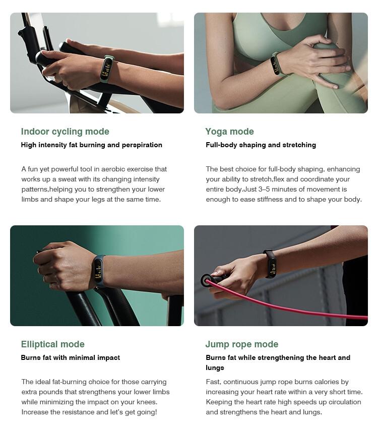 Global Version Xiaomi Mi Band 5 Smart Bracelet Miband 5 Smartband Fitness Traker Sport Waterproof Miband5 Smart Band