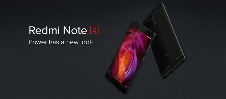 Xiaomi Redmi Note 4 Mobile Phone