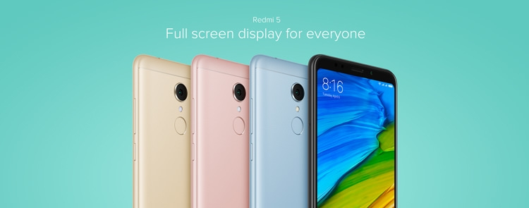 Xiaomi Redmi 5 Screen