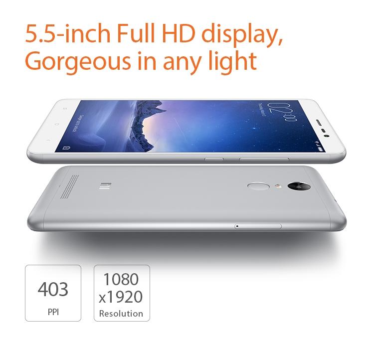 Xiaomi Redmi Note 3 Screen