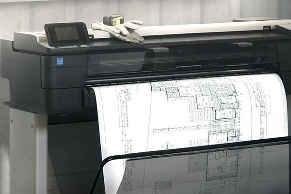 HP large-format printers