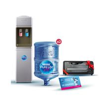 fc92316963 YL1449S Hot & Cold Water Dispenser - Silver + 2 Empty 18.9L Bottles +