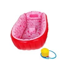 The Baby Inflatable Bath Tub - Pink