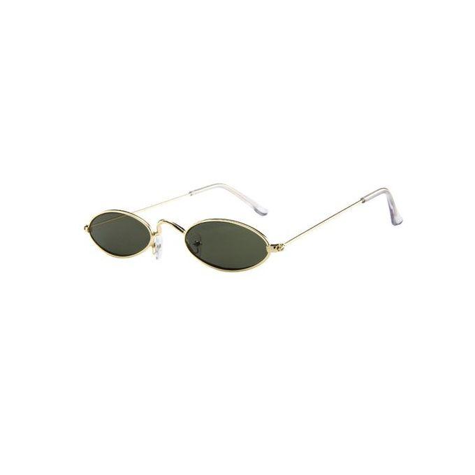 9da2c5df890e Eclipse Glasses Fashion Mens Womens Retro Small Oval Sunglasses Metal Frame Shades  Eyewear