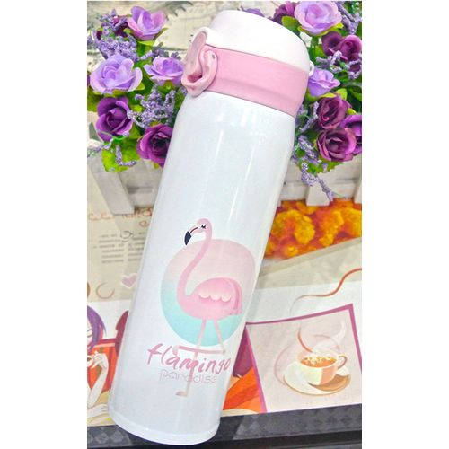 Flamingo Stainless Steel Vacuum Flask - 500ml