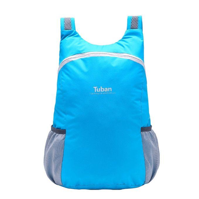 Huskspo Durable Folding Packable Lightweight Travel Hiking Backpack Daypack dec5c7ccede41