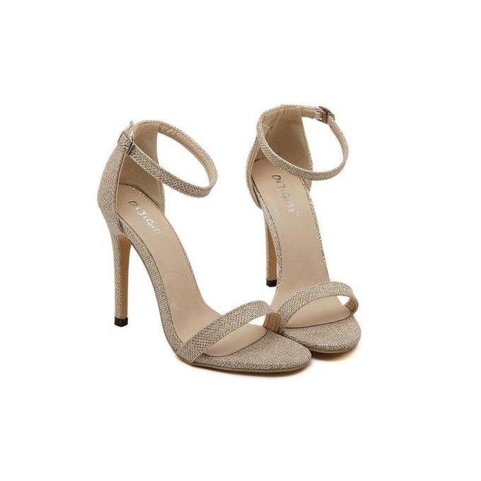 HOT Women/'s Shoes Ankle Strap High Heels Shoes Wedding Platform Pumps Shoes LG