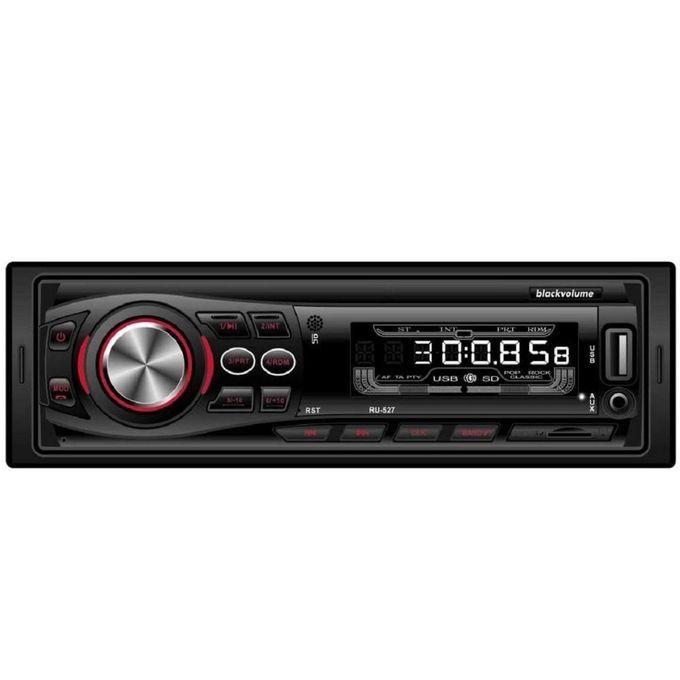 RU-527 Bluetooth Car Radio With Remote Control - Black