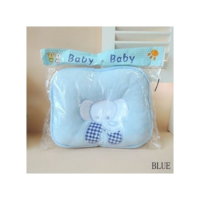SPHTOEO Cute Little Elephant Baby Infant Pillow Prevent Flat Head –  مصر