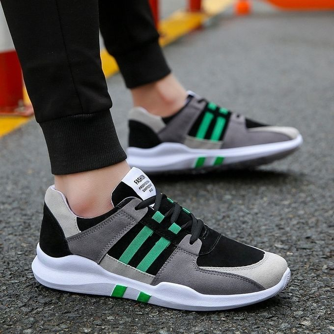 Sports Stylish Casual Jogging Shoes Sneakers Stripes Sale Men's On PnYxvaS