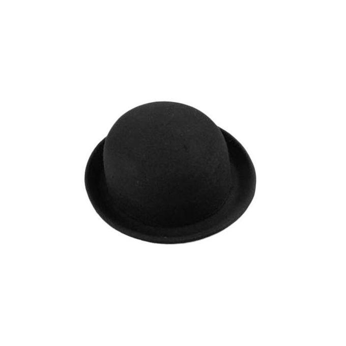 1e72b6fd70a6f2 Fashion Style Soft Women Vintage Wide Brim Wool Felt Bowler Fedora Hat  Floppy