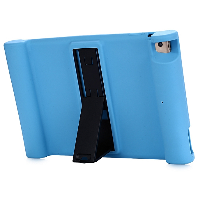 Silicone thin protection cover shockproof stand case for for Housse protection ipad 2