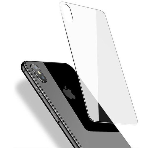 Sale On Iphone X Back Tempered Glass Screen Protector Ultra Clear Hd