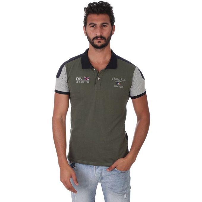 50bfaafb39b5 Sale on Men s Short Sleeves Polo Shirt - 6004 - Olive   Navy