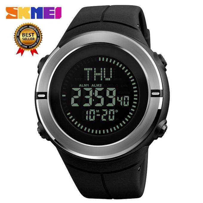 Skmei Outdoor Sport Watch Men Countdown Chrono Alarm Compass Watches Waterproof Fashion Digital Wristwatches Relogio Masculino Watches
