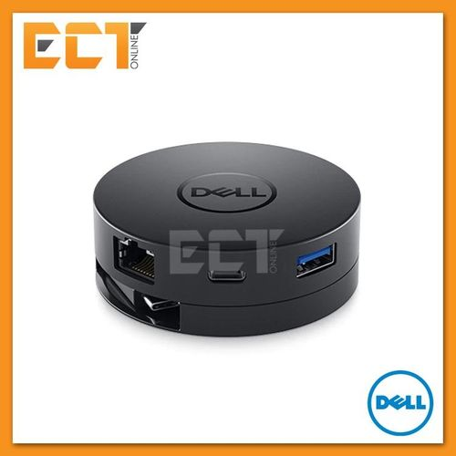 Dell DA300 Mobile Adapter (USB Type-C to  HDMI/VGA/DisplayPort/Ethernet/USB-C/USB) LBQ