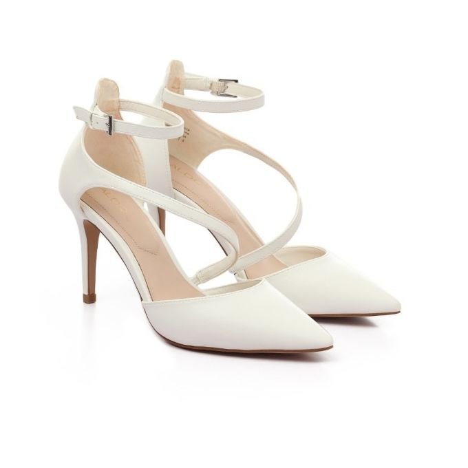 8f7a36d9d3f Sale on Crossed   Piou Piou   Heeled Shoes - White