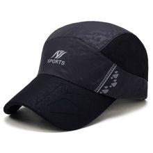 a3e881fb Unisex Mens Thin Breathable Quick Dry Outdoor Hat Sunshade Mesh Baseball  Caps