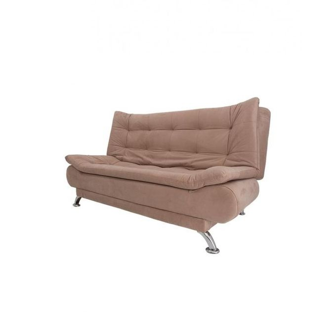 Velvet Sofa Bed Beige