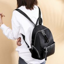 6bd0d5a526ea0 Women Joker Shoulder Bag Casual Oxford Cloth Simple Large Capacity Backpack