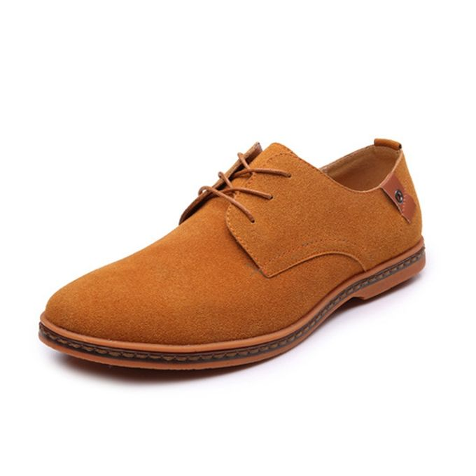 b543a7f4e64db7 Mens Leather Lined Smart Wedding Lace Up Brogues Formal Dress Shoes-Yellow