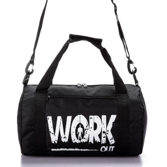 9989f54b51fd5 Work Out Gym Bag - Black - Jumia مصر