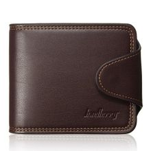 d2c69e67a9b8a Men Wallet Leather Credit Card Holder Coin Bag Purse Bifold Money Clip  Pockets Coffee