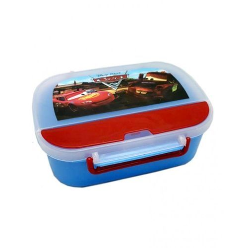 Kyro Toys Cars Lunch Box For Kids - Blue