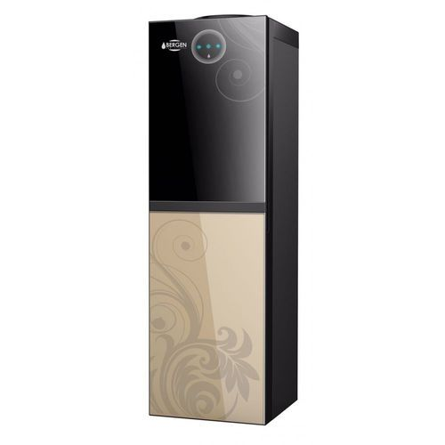 BYB-538 Gold Floor Standing Water Dispenser - Black & Gold