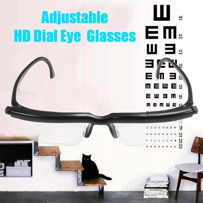 9f62701b5 Order Adjustable HD Dial Eye Glasses Vision Reader Glasses For Adult ...