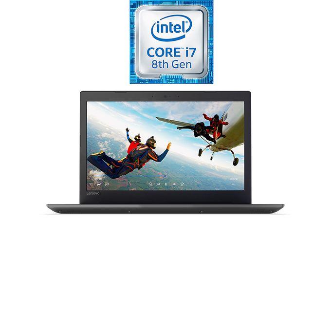لاب توب IdeaPad 320-15IKBRA - إنتل كور i7 - رام 8 جيجا بايت - هارد ديسك درايف 1 تيرا بايت - شاشة عالية الجودة 15.6 بوصة - معالج رسومات 2 جيجا بايت - DOS - أسود
