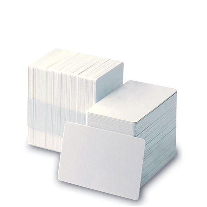 بطاقات بلاستيك بيضاء للطباعة – عبوة 250 بطاقة –  مصر