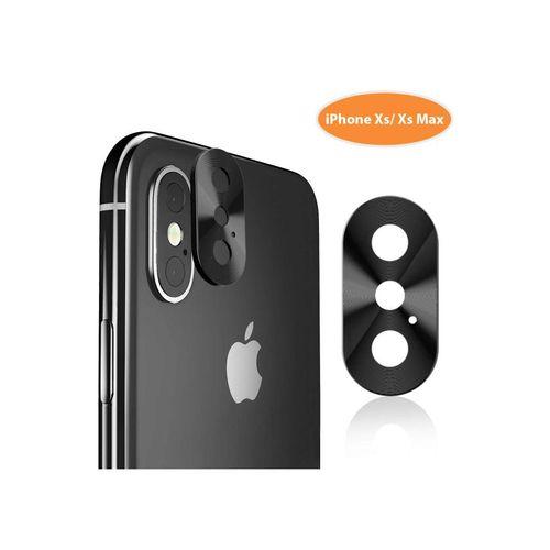 IPhone Xs Max Camera Lens Protector Ultra Thin Metal Black