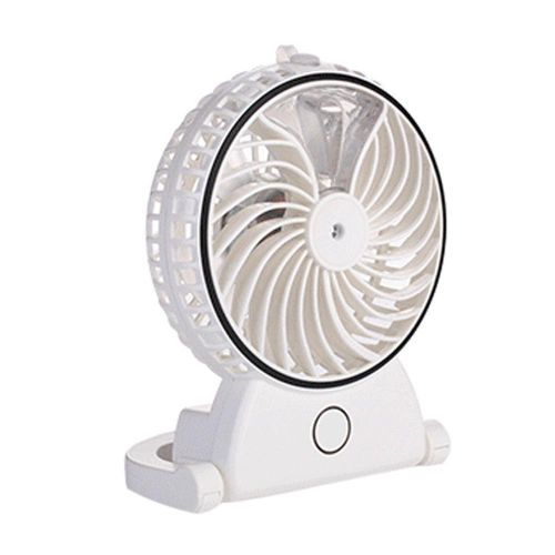 USB Rechargeable Misting Fan, Handheld Cooling Fan 18650 Battery Powered, Portable  Personal Cooling Mist