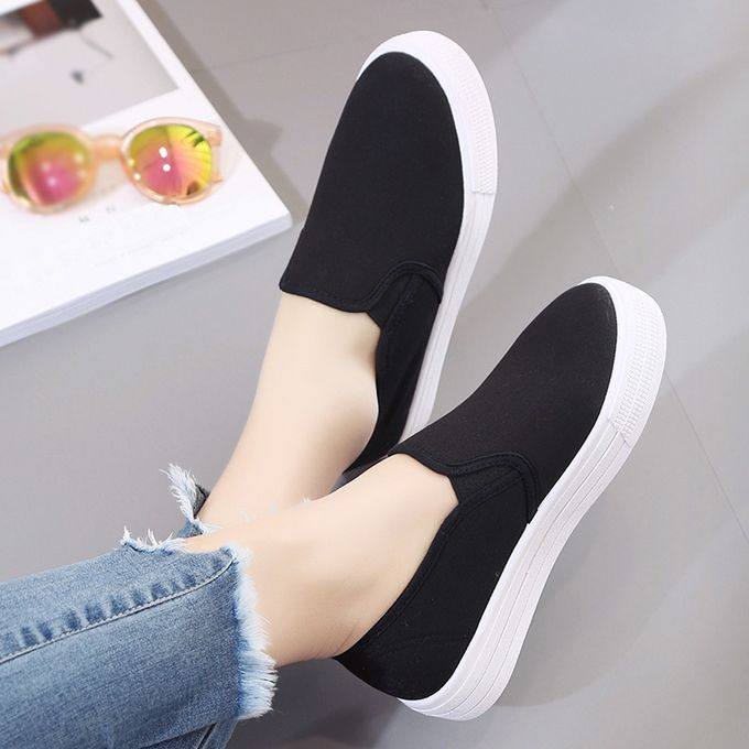 a8f95284563 Blicool Shoes Women Boots Platform Shoes Slip On Ankle Boots Fashion Flat  With Casual Shoes  ...