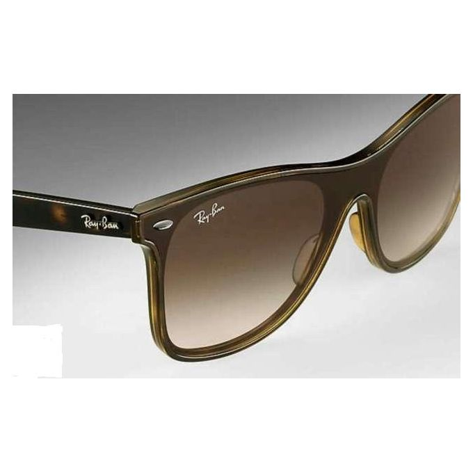 93c0ca2ef6 ... Ray-Ban BLAZE WAYFARER RB 4440N HAVANA BROWN SHADED Unisex Sunglasses  ...