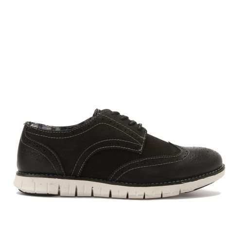 Oxford Leather Shoes - Black