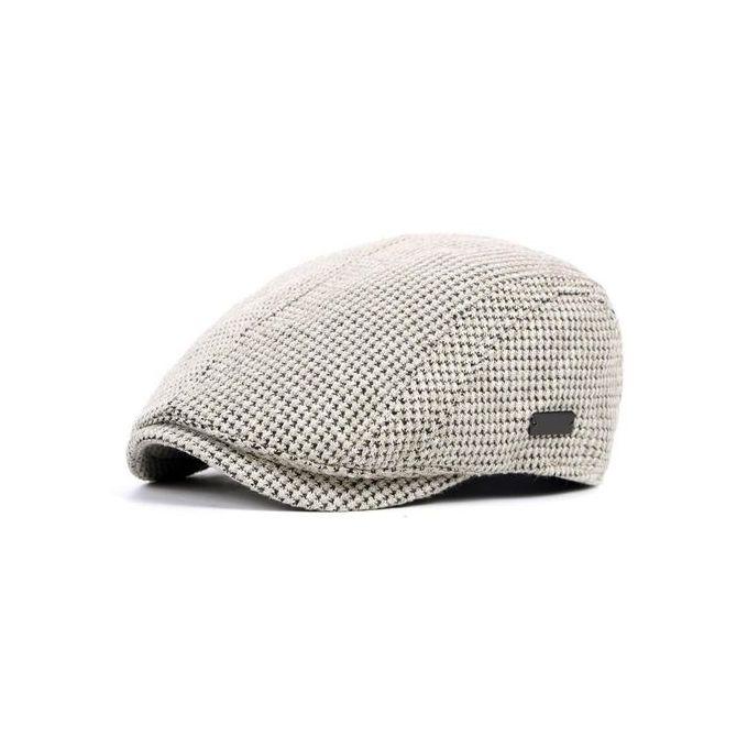15825c7c6c7f Fashion Mens Cotton Gatsby Flat Beret Cap Adjustable Ivy Hat Golf Hunting  Driving Cabbie Hat