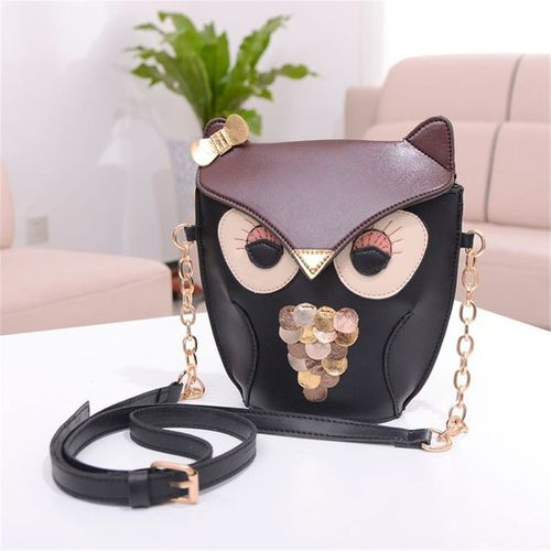 Sale on Women Lady Splicing Color Cross Body Bag Owl Pattern Holder Cover Bag Hand Bag | Jumia Egypt
